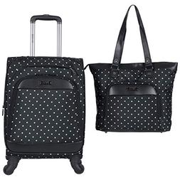 Kenneth Cole Reaction Dot Matrix 600d Polyester 2-Piece Lugg