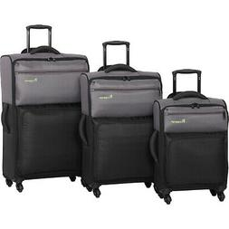 it luggage DuoTone 4 Wheel 3 Piece Set 10 Colors Luggage Set