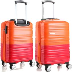 ECO Rolling Luggage Spinner Travel Set Bag ABS Trolley Suitc