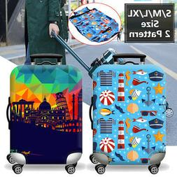Elastic Travel Luggage Suitcase Cover Dustproof Protector Ca