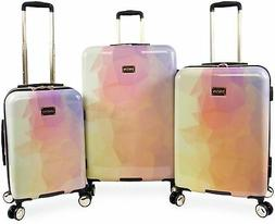 Bebe Emma 3-pc Hardside Spinner Luggage Set