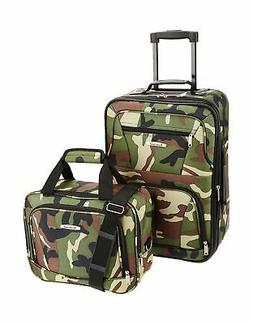 expandable camouflage lightweight carry luggage