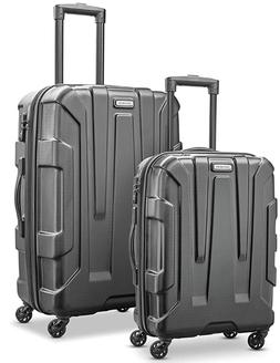 Samsonite Expandable Hardside Luggage with Spinner Wheels Bl