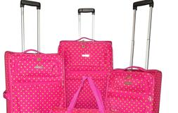 """Expandable Spinner Luggage Set of 6-piece  28"""" 24"""" 20"""" Duffe"""