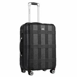 """Expandable Suitcases Lightweight 20"""" Luggage Set with Spinne"""