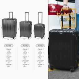 """Expandable Suitcases Lightweight 20""""Luggage Set with Spinn"""