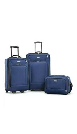 American Tourister Fieldbrook XLT 3 Piece Set - Navy - 92286