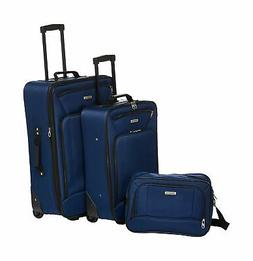 American Tourister Fieldbrook XLT 3pc Set , Navy