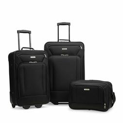 American Tourister Fieldbrook Xlt 3pc Skate Wheels Black Tra