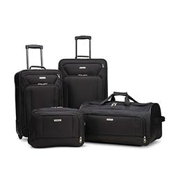 American Tourister Fieldbrook XLT 4pc Set , Black