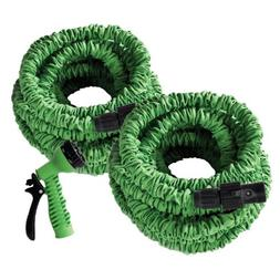 2 Pack Of 50' Flex-Able Hose With Connection to Make 100 FT