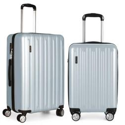 Fochier Luggage 2 piece Set Lightweith Spinner Suitcase with