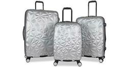 AIMEE KESTENBERG GEO EDGE 3 PIECE HARDSIDE SPINNER LUGGAGE S