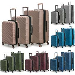 US Traveler Gilmore 3pc Hardside Expandable Spinner Matching