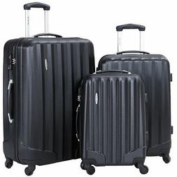 3 pcs family luggage travel set bag
