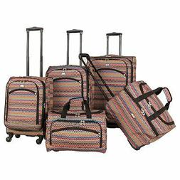 American Flyer Gold Coast 5-piece Spinner Luggage Set - 28 i