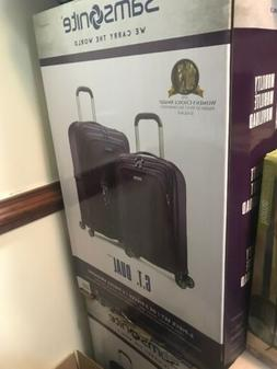 gt dual 2 piece softside luggage set