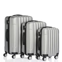 High Quality 3 Piece Nested Spinner Suitcase Luggage Set Tra