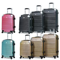 Dejuno Impact Hardside 3-Piece Spinner Luggage Set