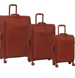It Luggage Infinispin Lustrous Expandable Red Orange 3-pc Lu