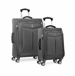 Travelpro Inflight 2 Piece Spinner Luggage Set, Black