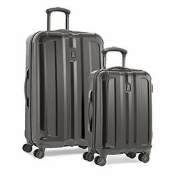 Travelpro Inflight Lite Two-Piece Hardside Spinner Set Gunme