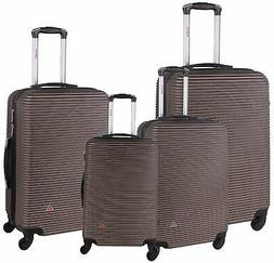 InUSA Royal Hardside Spinner 4-Piece Set 20''/24''/28''/32''