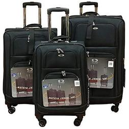 Kemyer 1000 Plus Series 3-PC Expandable Spinner Luggage Set