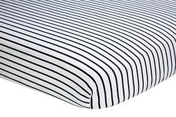 Nautica Kids Nursery Separates Striped 100% Cotton Fitted Cr