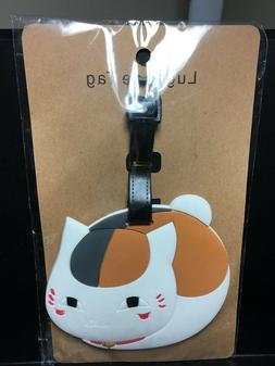 Kitty Luggage Tag Silicone Easy to Find Bright Colorful and