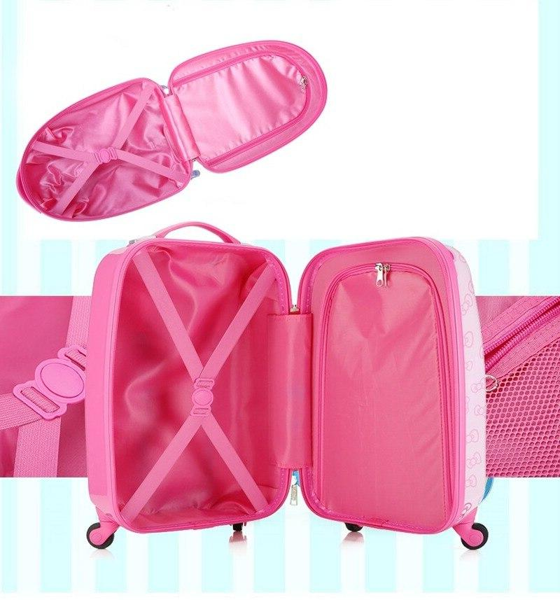 18/19/20 Child Rolling <font><b>Luggage</b></font> Spinner Wheels Student <font><b>Carry</b></font> Kids Girl Boy Travel