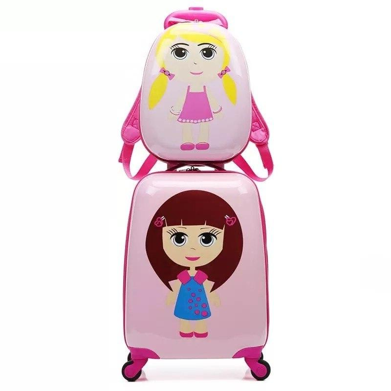 18/19/20 Inch Child Rolling <font><b>Luggage</b></font> Spinner Suitcase Wheels <font><b>Carry</b></font> <font><b>on</b></font> Trolley Kids Girl Boy Travel