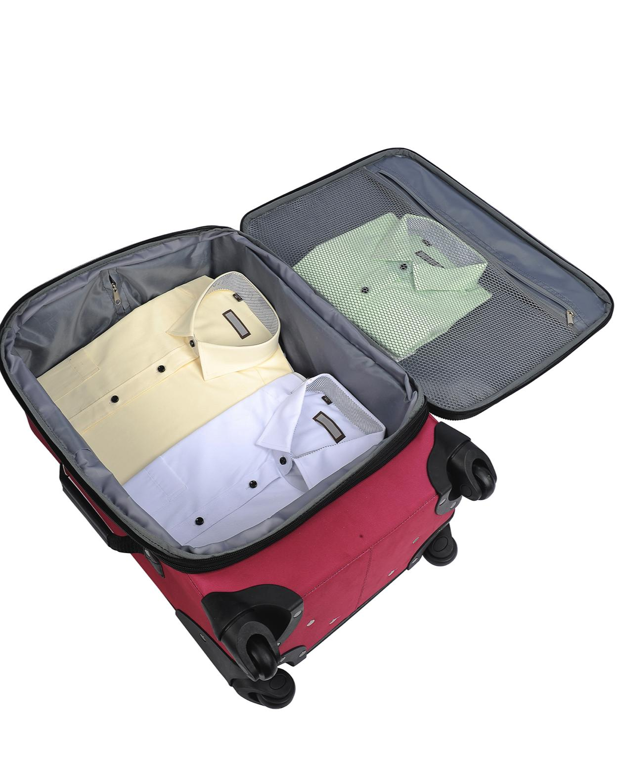 Protege 2-Piece Expandable Spinner Travel Luggage