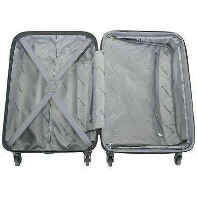 Kenneth Cole Piece Silver Hardside Set Out Of Bounds