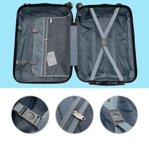 "16/20/24/28"" Luggage Set with Bag Trolley Case Carry Suitcase"