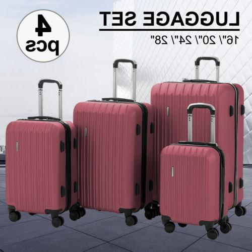 "16/20/24/28"" with 4 Bag Trolley Suitcase"