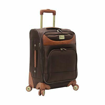 20 inch 8 wheel spinner carry on