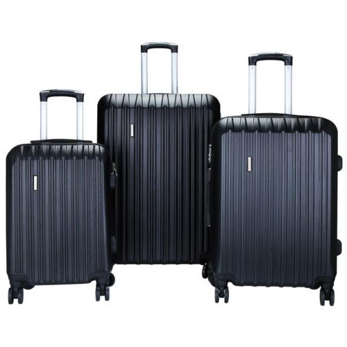 3/4Pcs ABS Trolley On Travel Bag