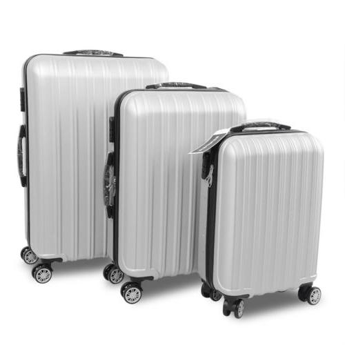 3 4PCS Luggage Set ABS Business