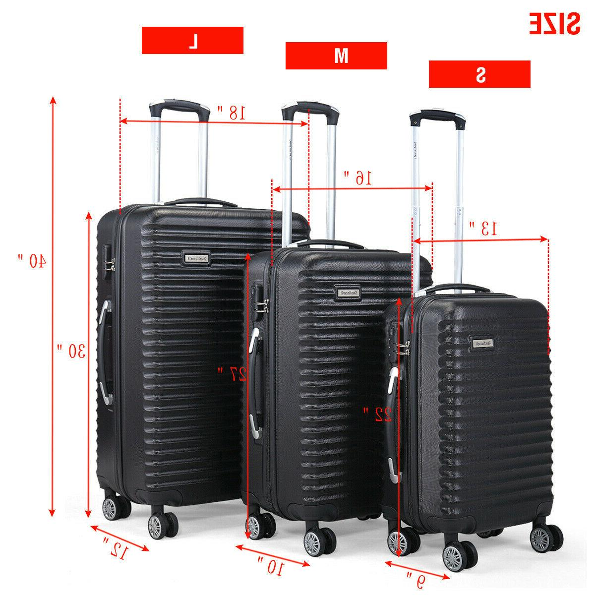"3 Travel Bag Trolley 22"" 30"""