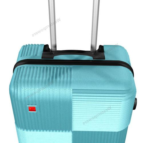 3-Piece Luggage with Wheels