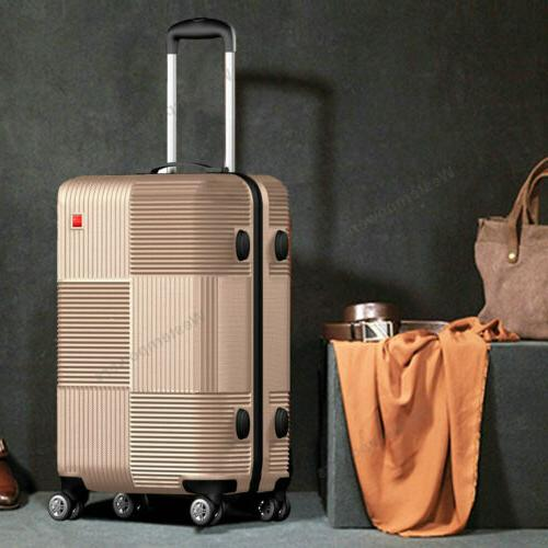 3-Piece Hardside Luggage with 20'' 24'' 28''