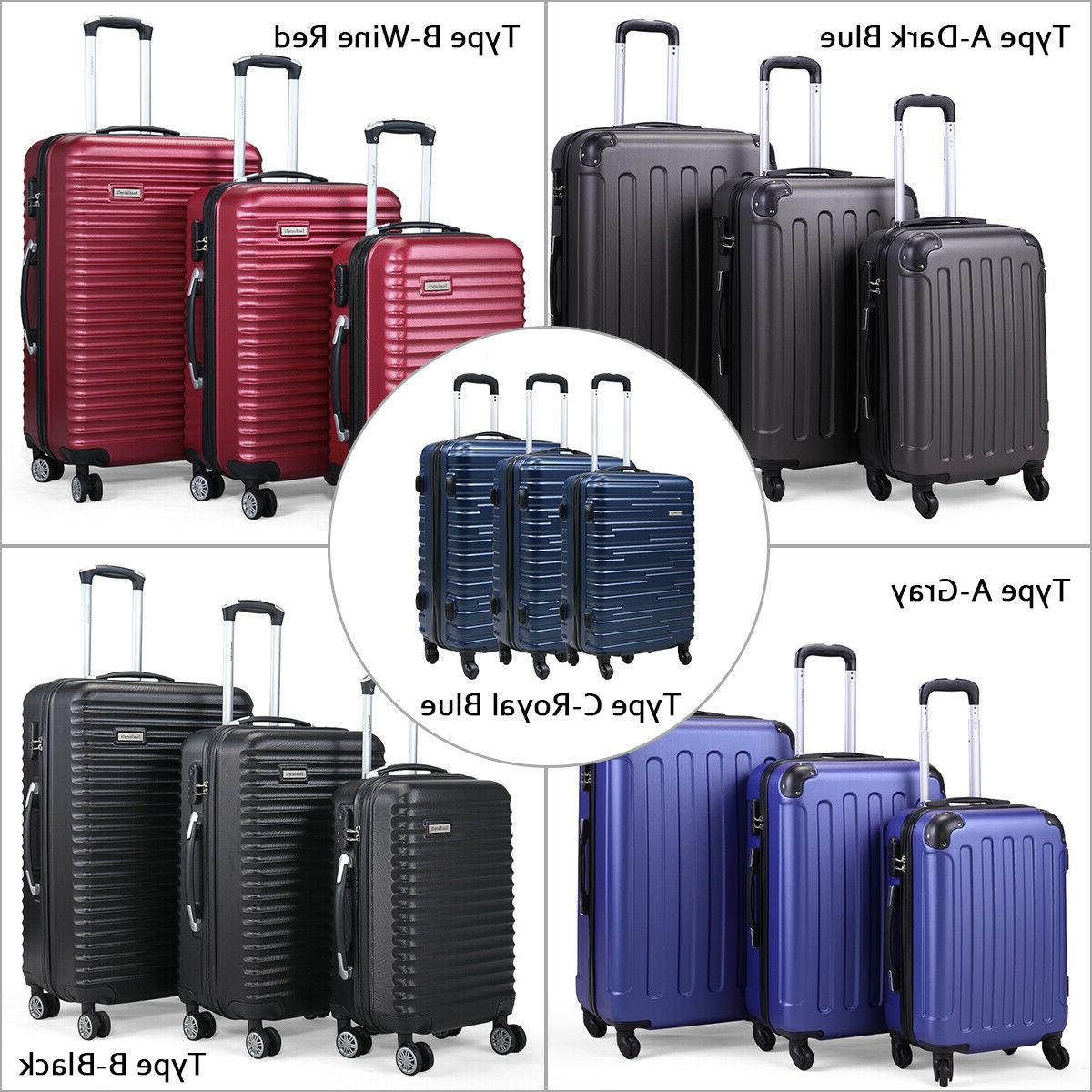 3 Piece Luggage Carry Cover ABS+PC