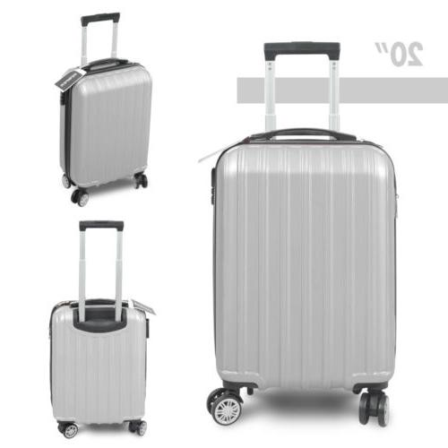 Travel Bag Trolley Business Suitcase Gray