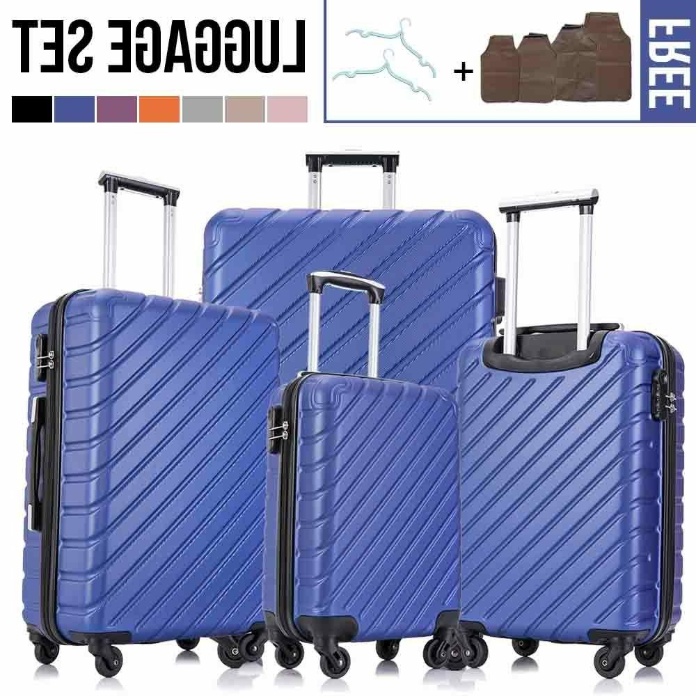 4 Light Case Suitcase w/Lock