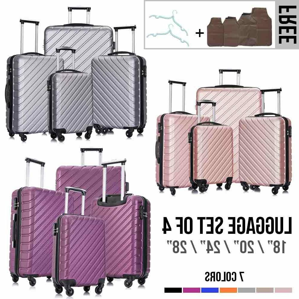 "4 Light Suitcase 18""20""24""28"" w/Lock"