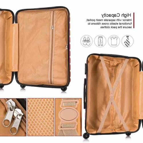 Set Suitcase Hardshell