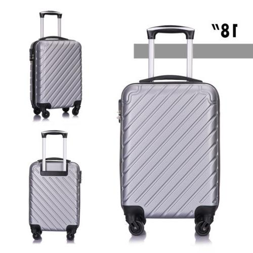 3/4 PC Business Carry ABS Suitcase