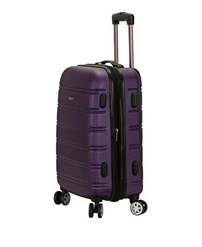 Rockland Luggage Inch 28 Inch 2 Expandable Purple, One Size