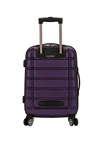 Rockland Luggage 20 28 2 Piece Expandable Purple, One Size